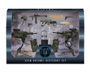 NECA Aliens USCM Weapons Arsenal Accessory Deluxe Pack Marines Instock Free P&P
